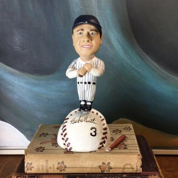 Vintage Babe Ruth New York Yankees MLB Bobsterz
